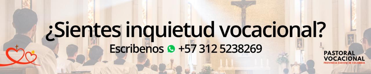 banner pastoral vocacional eudista